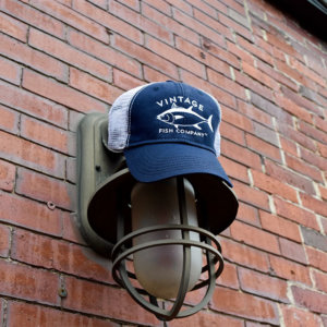 Vintage Fish Company Trucker Hats