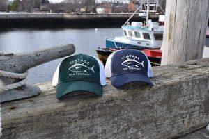Vintage Fish Company Trucker Hats