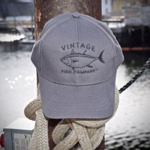 Vintage Fish Company Baseball Hats