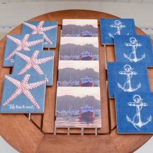 Nautical Ceramic Coasters