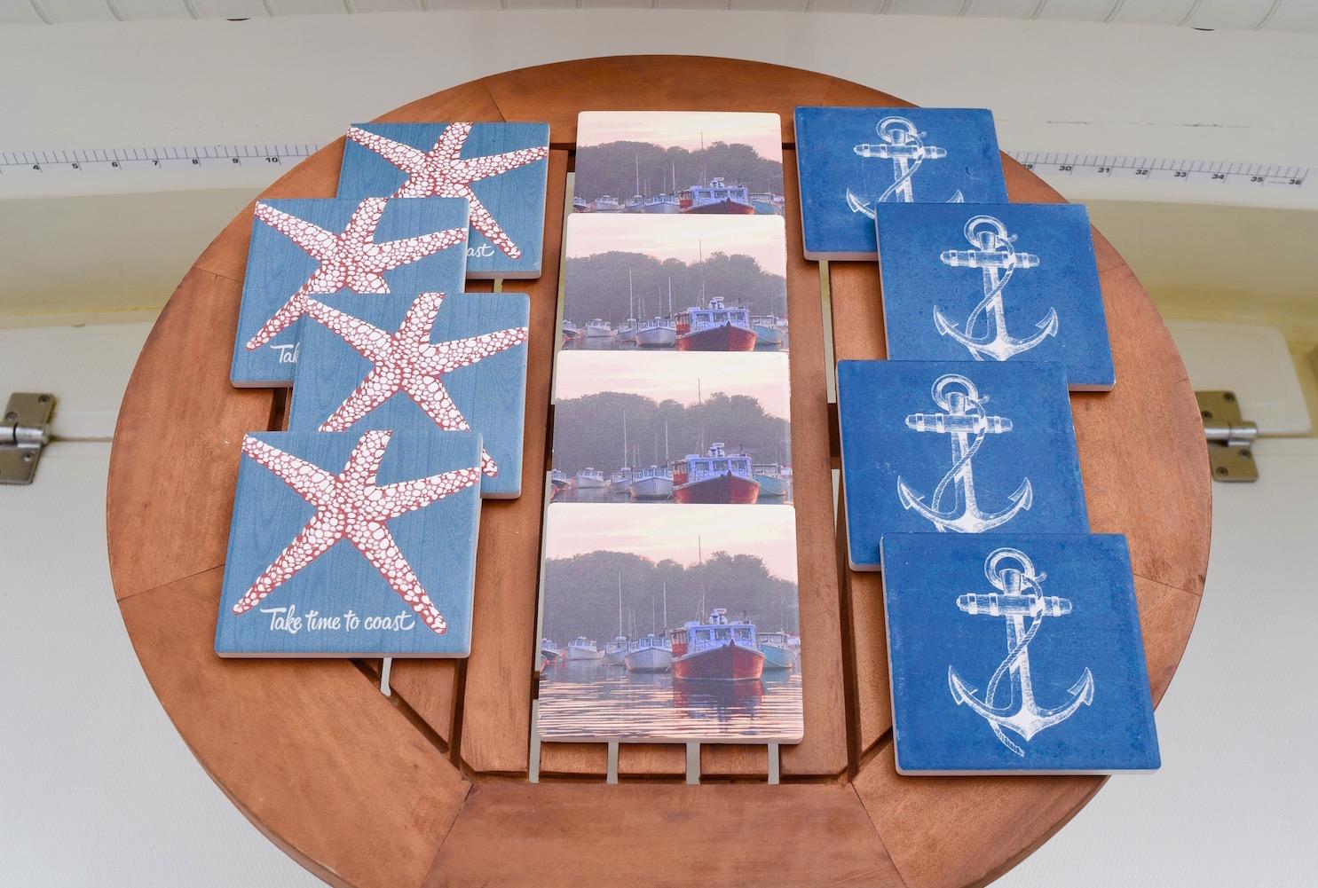 Nautical Ceramic Coasters