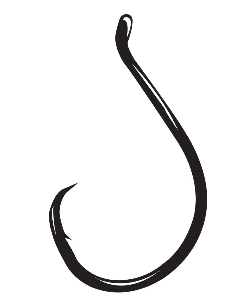 Inline Circle Fishing Hook
